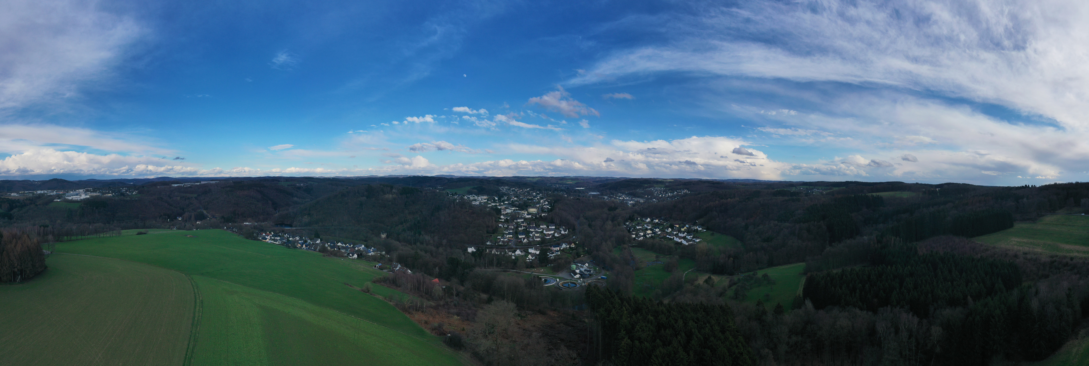 Landschaftsfoto von Hengstenberg aus