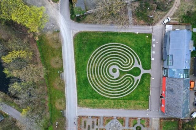 Labyrinth Schloss Homburg