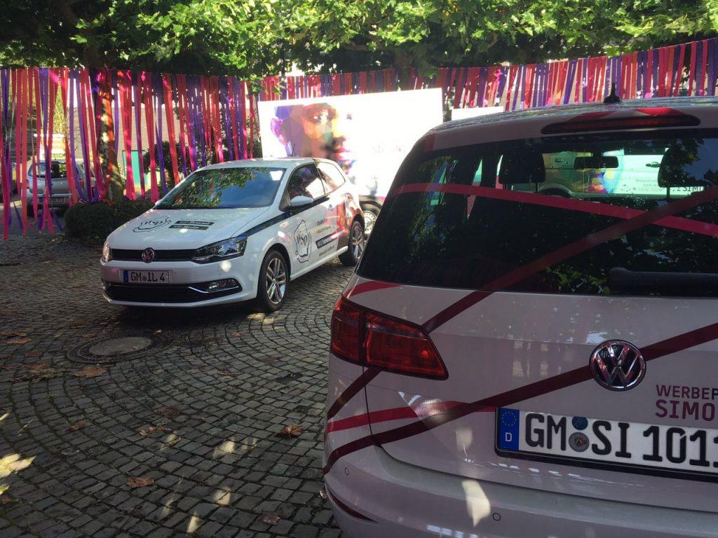 Fahrzeugbeklebungen auf der Wiehler AutoMobilSchau