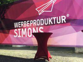 Werbeproduktur Simons auf der Auto-Mobil-Schau in Wiehl