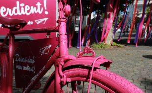 Werbeproduktur-Fahrrad