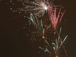 Feuerwerk über Wiehl