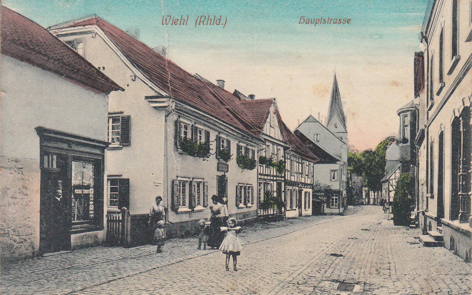 Wiehl Hauptstraße um 1910