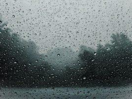 Sturm und Regen